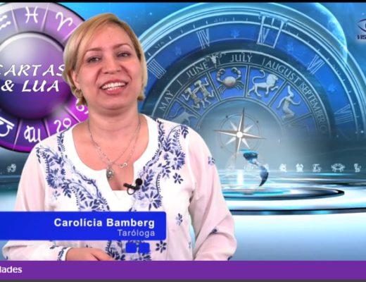 Video Visão TV Previsão Lua Nova Capricornio Dezembro 2016 Carolicia