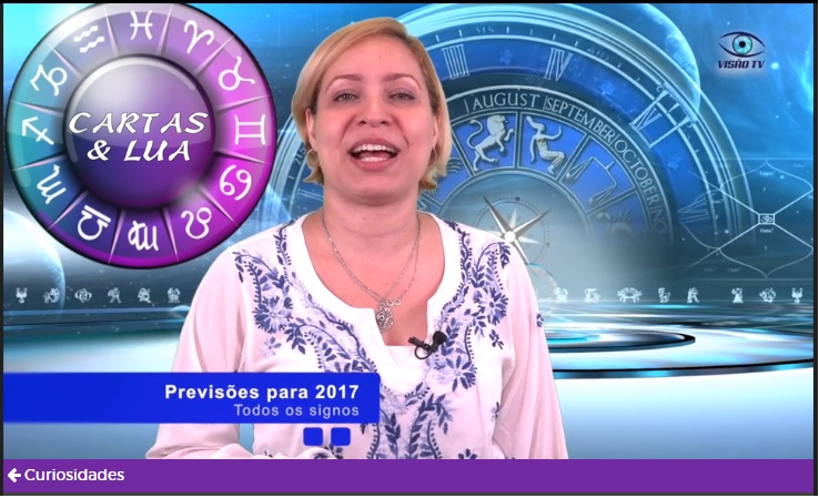 Carolicia Previsão Geral 2017 Todos os signos com Tarot e Baralho Cigano na Visão TV