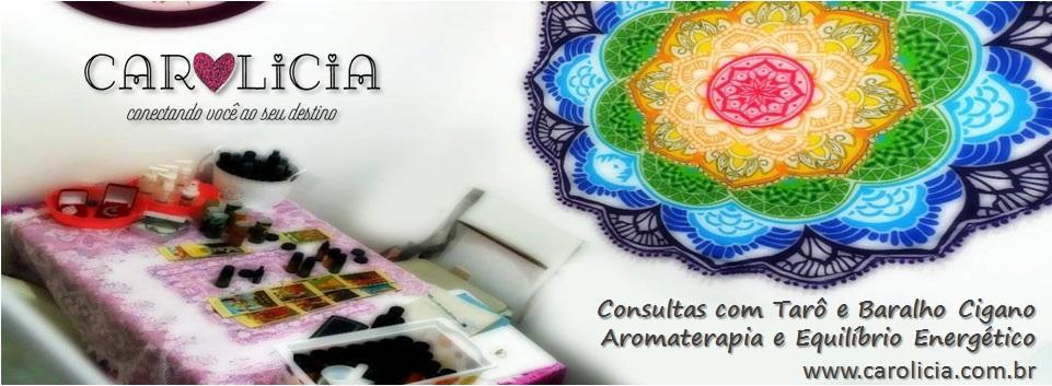 Carolicia Tarot Baralho Cigano Aromaterapia