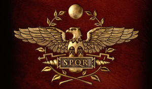 Símbolo estilizado da Águia Romana