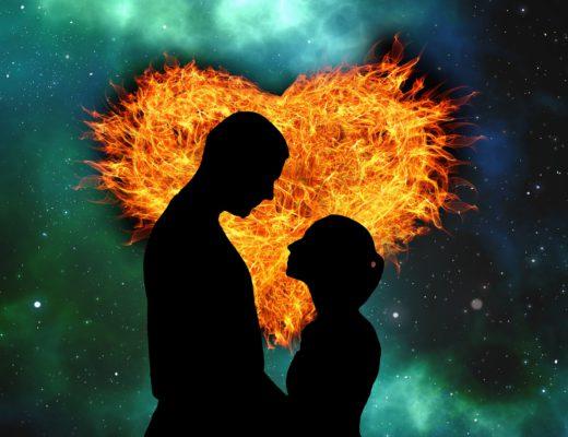 amor fogo espiritual